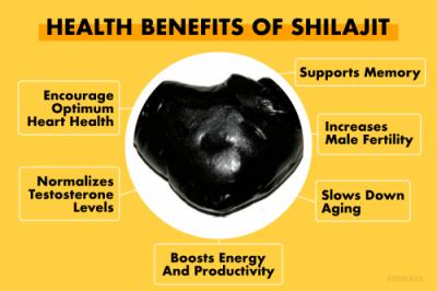 Benefits of Shilajit
